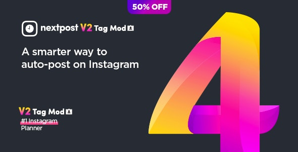 Posting TAG Mod for Nextpost Instagram - CodeCanyon Item for Sale