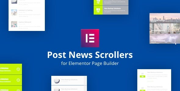 Post News Scrollers for Elementor Page Builder