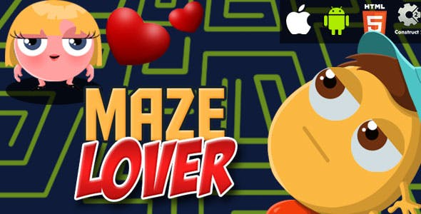 Maze Lover - HTML5 Game (CAPX)