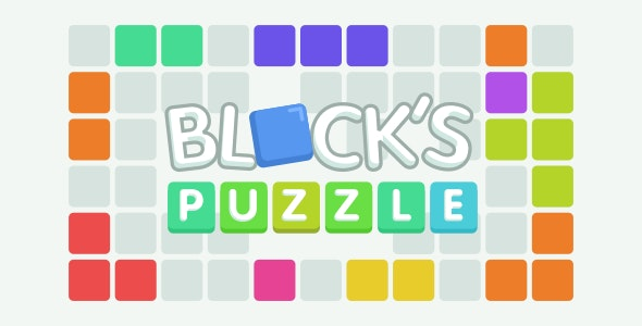 Blocks Puzzle - HTML5 Game (Construct 2/3) - CodeCanyon Item for Sale