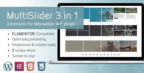 Multi Slider Gallery 2.1 Extention for WoowBox Plugin