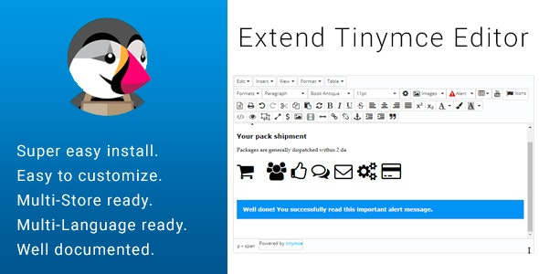 Extend Tinymce Form Text Editor - CodeCanyon Item for Sale