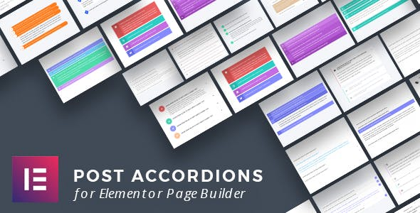 Post Accordions for Elementor Page Builder