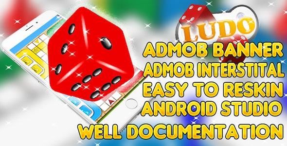 Ludo + Android Studio + Admob + Chartboost + Applovin by freebabygames5