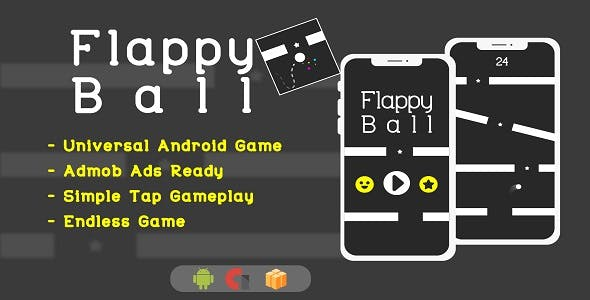 Flappy Ball - Android Studio + AdMob + Buildbox