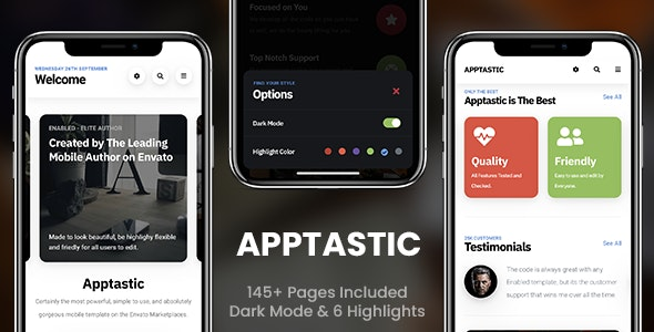 Apptastic | PhoneGap & Cordova Mobile App by Enabled | CodeCanyon