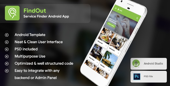 Place Finder, like Restaurant & Service Finder Android App