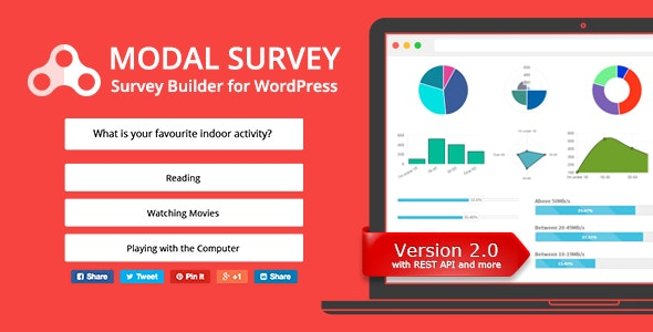Modal Survey - WordPress Poll, Survey & Quiz Plugin by pantherius