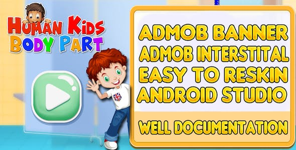 Kids Body Parts Android Game