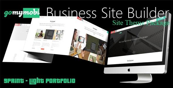 gomymobiBSB's Site Theme: Sprint - Light Portfolio - CodeCanyon Item for Sale