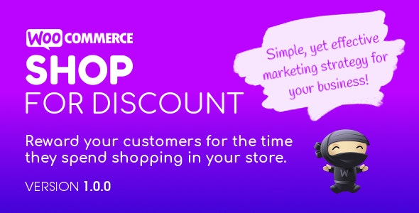 Shop for Discount - Loyalty and Rewards Program for WooCommerce