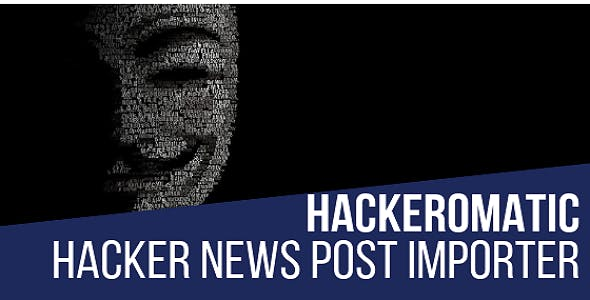 Hackeromatic Hacker News News Post Generator Plugin