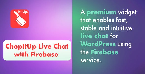 ChopItUp Live Chat with Firebase