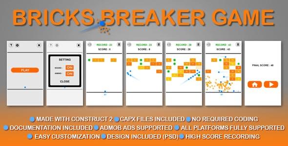 Bricks Breaker 1.0v
