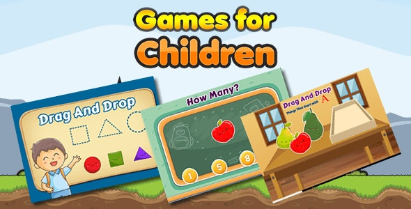 game for children - CodeCanyon Item for Sale