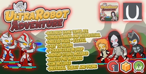 UltraRobot Adventure + Admob (BBDOC + Android Studio)