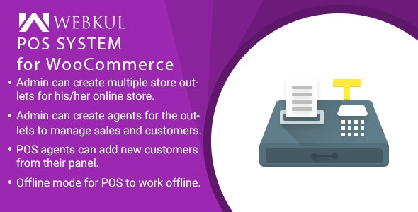Point of Sale System for WooCommerce (POS Plugin) by webkul