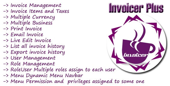 Invoicer Plus (Invoice Generator) Open Source Asp.net Mvc  5 Print | Email | Edit able Invoice - CodeCanyon Item for Sale