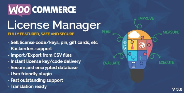 WooCommerce License Manager by firassaidi | CodeCanyon