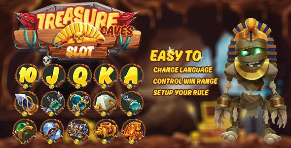Treasure Caves Slot - CodeCanyon Item for Sale