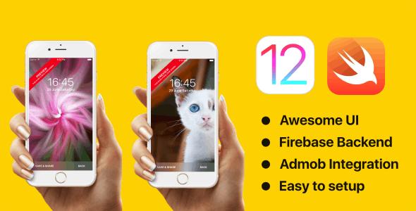 Wallpapers - Swift 5 | iOS 12 - Firebase - Admob