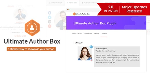 Ultimate Author Box - Responsive Post/Article Author Section Plugin for WordPress - CodeCanyon Item for Sale