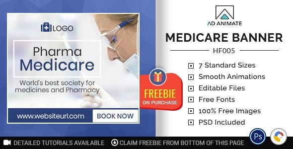 Health & Fitness | Medicare Banner (HF005)
