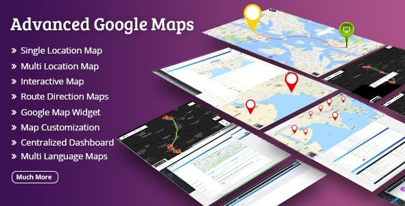 Wordpress Google Maps Plugin by Weblizar