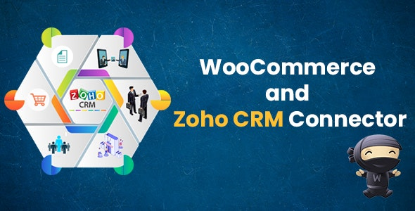 WooCommerce and Zoho CRM Connector by elsnertechnologies