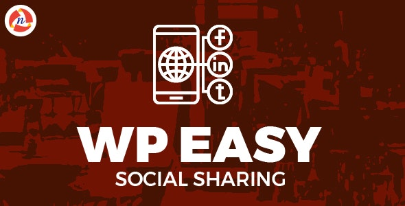 WP Easy Social Sharing - CodeCanyon Item for Sale