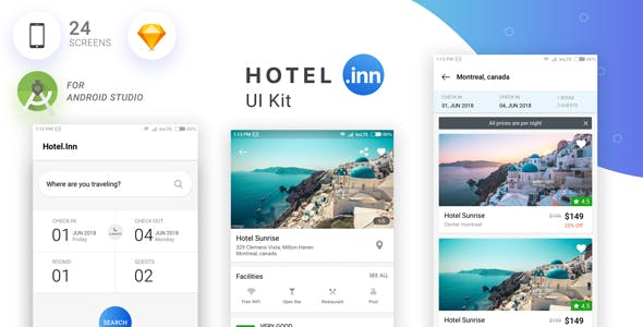 Hotel-Inn UI KIT