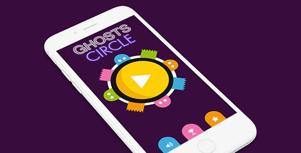 GHOSTS CIRCLE WITH ADMOB - ANDROID STUDIO & ECLIPSE FILE - CodeCanyon Item for Sale