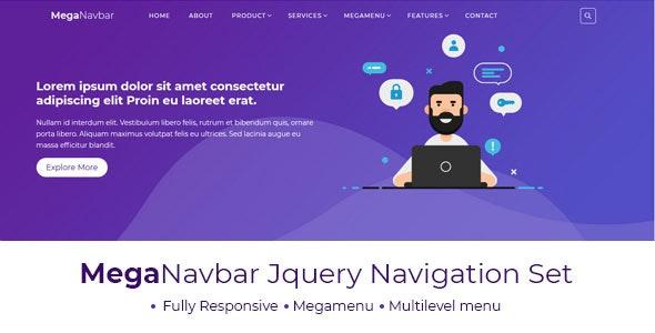 Mega Navbar : Multipurpose Menubar - CodeCanyon Item for Sale