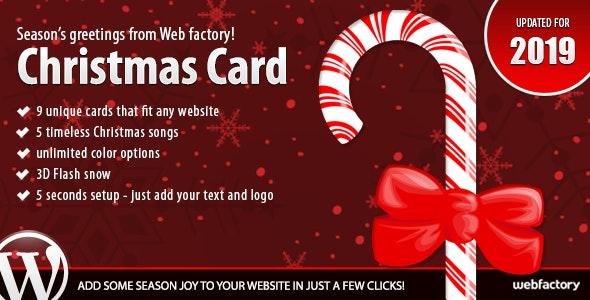 Christmas Card - CodeCanyon Item for Sale