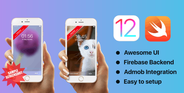 Blur Wallpapers | iOS 12 | Swift 5 | Firebase Backend - CodeCanyon Item for Sale