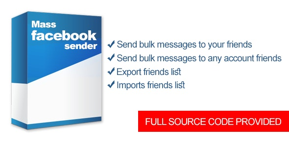 Mass Facebook Sender - CodeCanyon Item for Sale