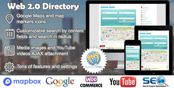 Web 2.0 Directory plugin for WordPress        Nulled