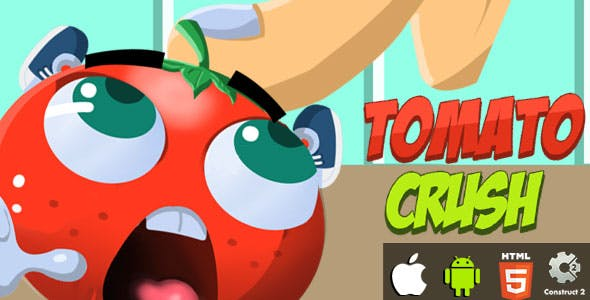 Tomato Crush - HTML5 Game (CAPX)