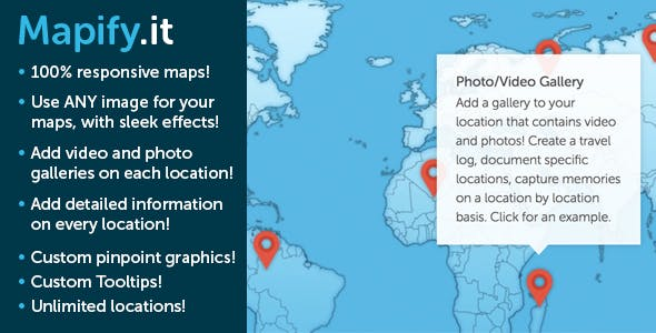 Mapify: The Absolute Best Maps for Wordpress        Nulled