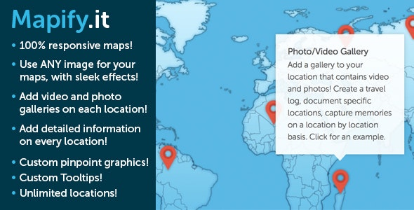 MapifyPro: The Absolute Best Maps for WordPress - CodeCanyon Item for Sale