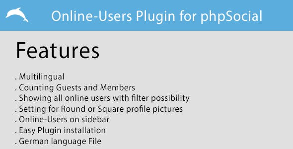 Users online Plugin for phpSocial