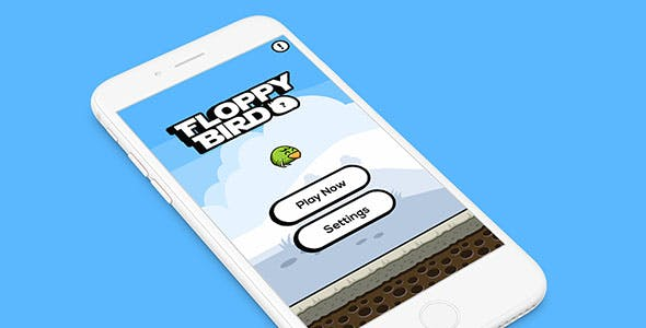 FLOPPY BIRD WITH ADMOB - ANDROID STUDIO & ECLIPSE FILE - CodeCanyon Item for Sale
