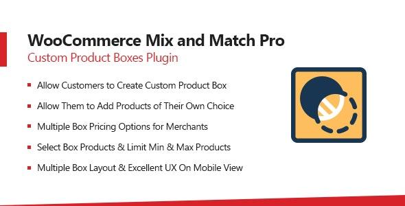 WooCommerce Mix & Match - Custom Product Boxes Bundles - CodeCanyon Item for Sale