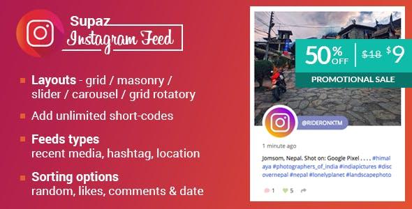 Supaz Instagram Feeds