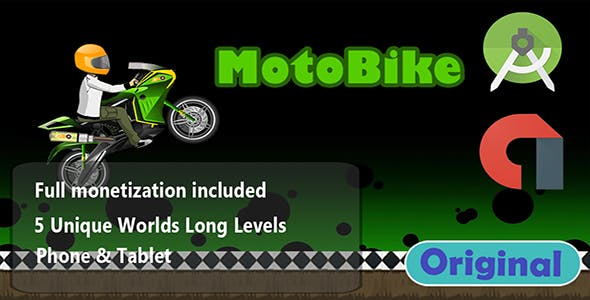 Moto Rider Extreme Bike Race Android Template Admob Ads
