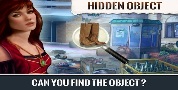 Hidden Object Android Studio Game (Chartboost + Admob + Applovin) Easy to reskin