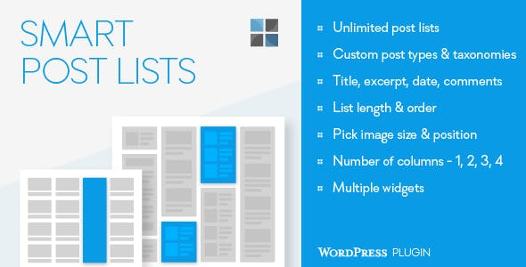 Smart Post Lists Widget for WordPress        Nulled