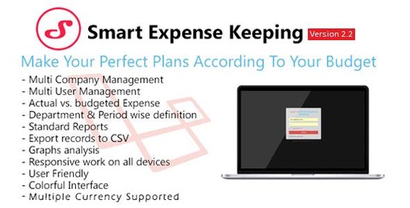 Smart Expense Keeping (SEK) - CodeCanyon Item for Sale