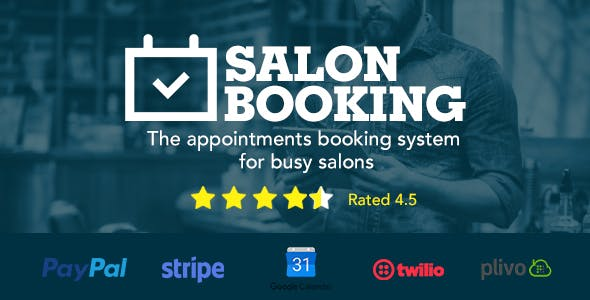 Barber Shop Plugins, Code & Script from CodeCanyon