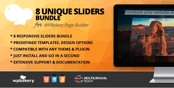 Sliders Bundle for WPBakery Page Builder (Visual Composer) - CodeCanyon Item for Sale